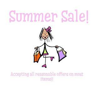 End of summer sale!!